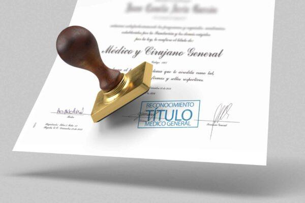 Reconocimiento título médico en Chile