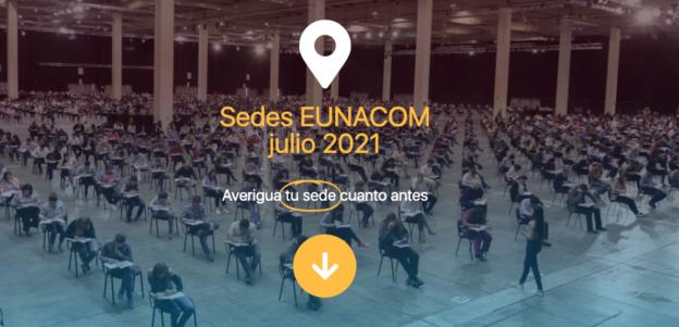 Sedes EUNACOM julio 2021